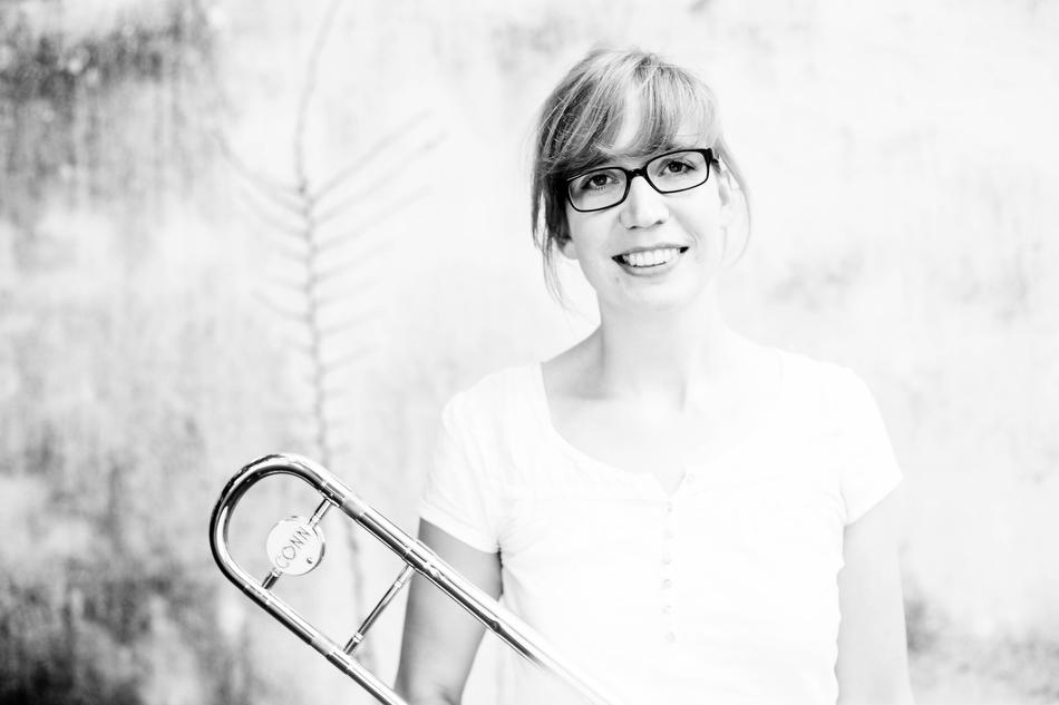 Trombonist Lisa Stick